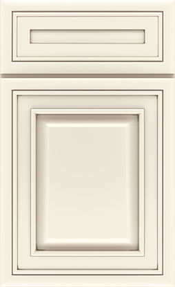 Picture of Caldwell - Painted - Coconut w/ Amaretto Crème Artisan Glaze