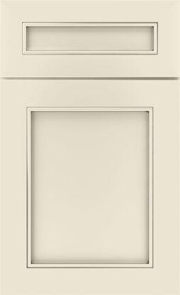 Picture of Clarke - Painted - Coconut w/ Grey Stone Artisan Glaze