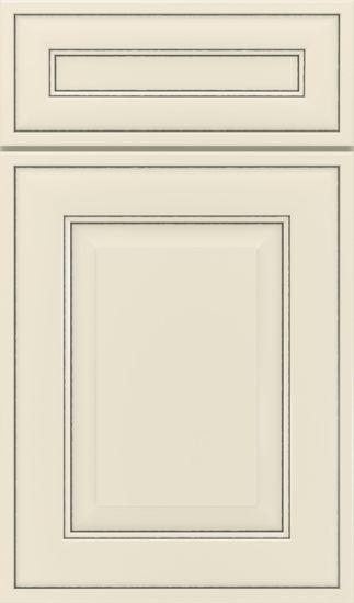 Picture of Dulcet - Painted - Coconut w/ Ash Detail Glaze