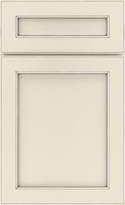 Picture of Karwin - Painted - Coconut w/ Grey Stone Artisan Glaze
